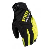 Перчатки мужские FXR Attack Lite black/hi-vis