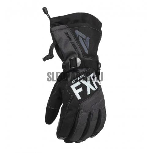 Перчатки мужские FXR Attack Lite Gauntlet black