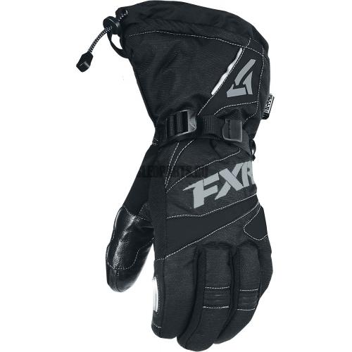 Перчатки мужские FXR Fuel black char
