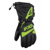 Перчатки мужские FXR Fuel black/elec. lime