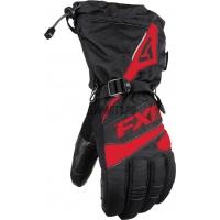 Перчатки мужские FXR Fuel black/red