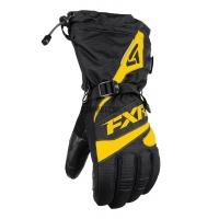 Перчатки мужские FXR Fuel black/yellow