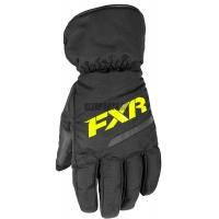 Перчатки мужские FXR Octane black/hi-vis