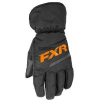 Перчатки мужские FXR Octane black/orange