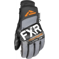 Перчатки мужские FXR Transfer Pro-Tec black/char/grey/orange