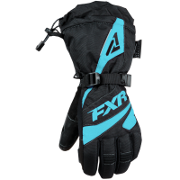 Перчатки женские FXR Fusion black/mint