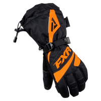 Перчатки FXR Fusion black/orange