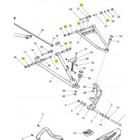 Комплект втулок рычагов SPI Ski-doo / Lynx