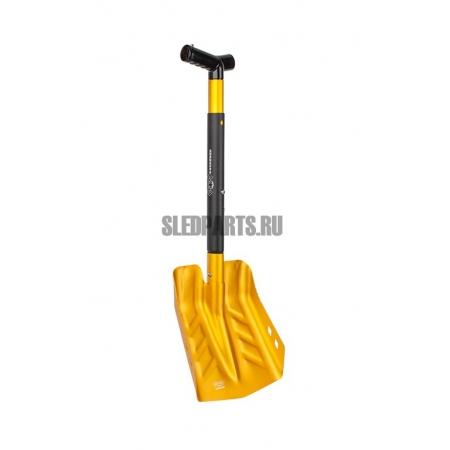 Лопата с телескопической ручкой и пилой HORD gold/black