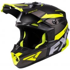Шлем FXR Blade 2.0 Force Black/Char/Hi Vis