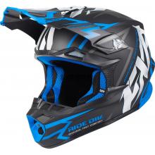 Шлем FXR Blade Vertical black/blue
