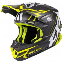 Шлем FXR Blade Vertical helmet black/hi-vis