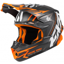 Шлем FXR Blade Vertical helmet black/orange