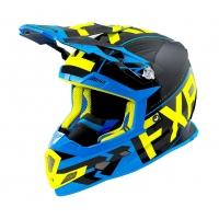 Шлем FXR Boost сlutch black/blue/hi-vis
