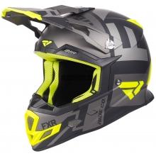 Шлем FXR Boost Clutch black/hi-vis/char