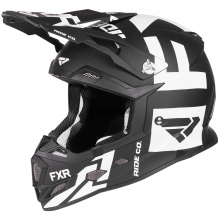 Шлем FXR Boost Clutch black/white