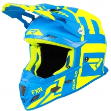 Шлем FXR Boost Clutch hi-vis/blue
