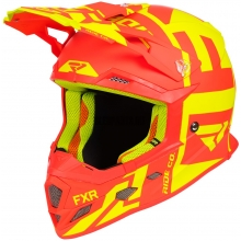 Шлем FXR Boost Clutch hi-vis/nuke red
