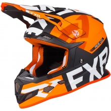 Шлем FXR Boost Evo helmet black/char/orange