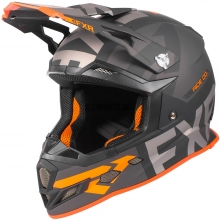 Шлем FXR Boost Evo helmet black/orange