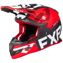 Шлем FXR Boost Evo helmet black/red