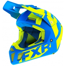 Шлем FXR Clutch CX blue/hi vis