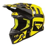 Шлем FXR Clutch Evo black/hi-vis