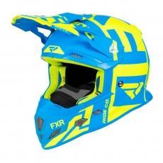Шлем FXR Clutch Evo hi-vis/blue