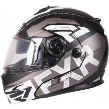 Шлем FXR FUEL Modular EVO helmet black/char/white