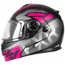 Шлем FXR FUEL Modular EVO helmet black fuchsia