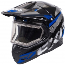 Шлем FXR FX-1 Team helmet black/blue/char