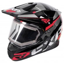 Шлем FXR FX-1 Team helmet black/red/char