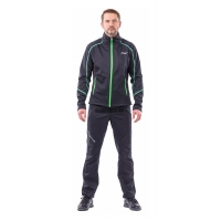 Куртка Dragonfly Explorer мужская softshell black/green