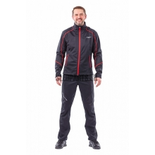 Куртка Dragonfly Explorer мужская softshell black/red