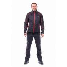 Куртка Dragonfly Explorer мужская softshell black/red