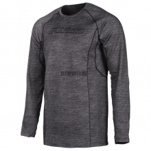 Термобелье верх KLIM Aggressor shirt 2.0 black heather
