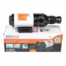 Помпа мацераторная SeaFlo, 45 л/мин, 12V