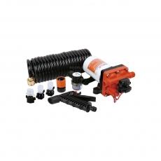 Комплект помывочный SeaFlo,15 л/мин, 4.8BAR, 12V
