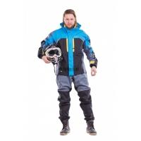Куртка QUAD PRO ELECTRIC BLUE-GREY